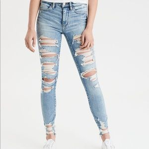 American Eagle High Waisted Jean